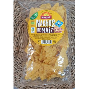 Bio-Nachos de Maíz 110 gr